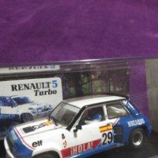 Slot Cars: RENAULT 5 TURBO EMBLEMA DUCADOS. Lote 195217835