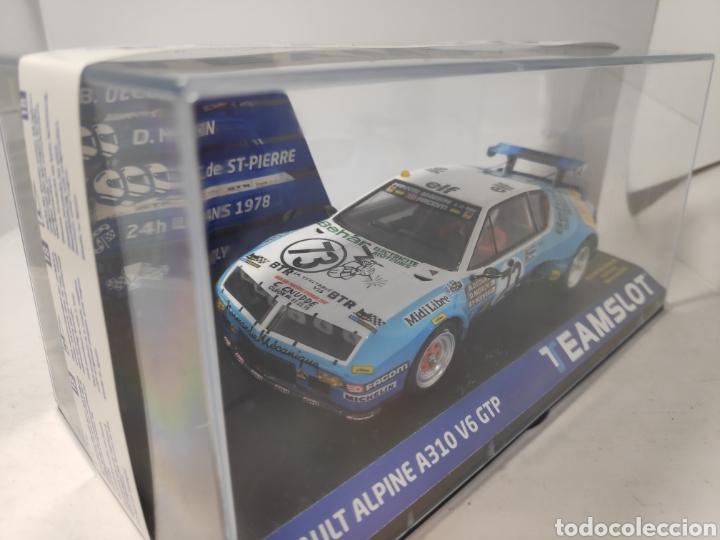 Slot Cars: TEAM SLOT RENAULT ALPINE A310 V6 GTP 24H. LEMANS 1978 REF. 12802 - Foto 2 - 195636032