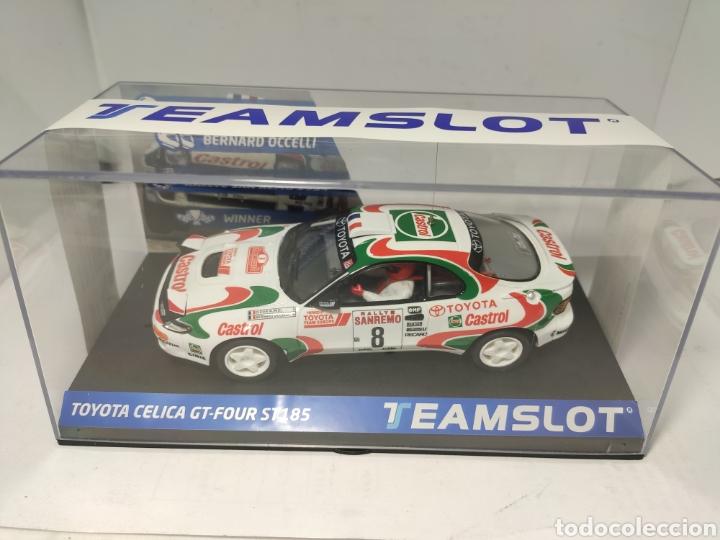 TEAM SLOT TOYOTA CELICA GT4 ST-185 SAN REMO 94 REF. 11709 (Juguetes - Slot Cars - Team Slot)