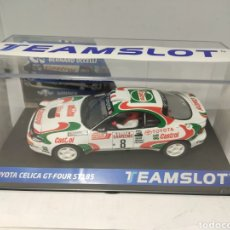 Slot Cars: TEAM SLOT TOYOTA CELICA GT4 ST-185 SAN REMO 94 REF. 11709. Lote 195653532
