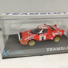 Slot Cars: TEAM SLOT LANCIA STRATOS TOUR DE CORSE 1975 REF. 11516. Lote 195655008