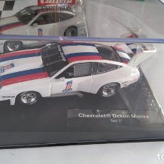 Slot Cars: CARRERA EVOLUTION CHEVROLET DEKON MONZA, VÁLIDO SCALEXTRIC,NINCO,FLY,.ETC. Lote 196385167