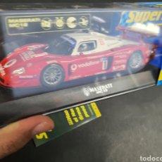 Slot Cars: SUPERSLOT MASERATI MC 12 NUEVO. Lote 196607410