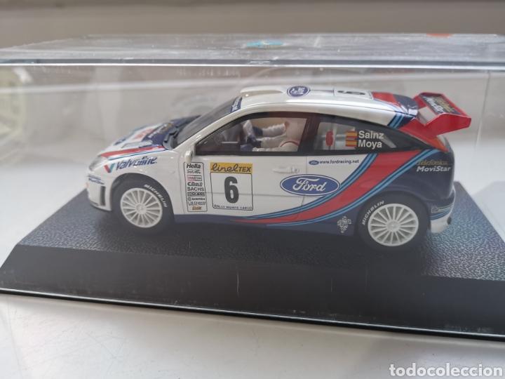 Slot Cars: Coche scalextric de Superslot Ford Focus WRC Nº6 Sin referencia. Sainz-Moya Nuevo - Foto 2 - 197604866