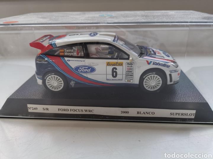 Slot Cars: Coche scalextric de Superslot Ford Focus WRC Nº6 Sin referencia. Sainz-Moya Nuevo - Foto 8 - 197604866