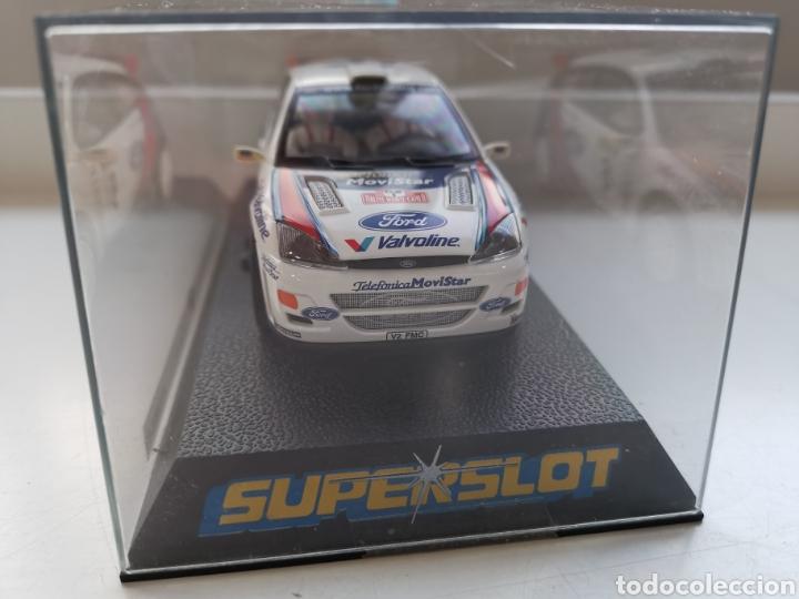 COCHE SCALEXTRIC DE SUPERSLOT FORD FOCUS WRC Nº6 SIN REFERENCIA. SAINZ-MOYA NUEVO (Juguetes - Slot Cars - Team Slot)