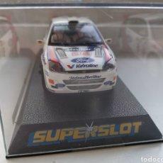 Slot Cars: COCHE SCALEXTRIC DE SUPERSLOT FORD FOCUS WRC Nº6 SIN REFERENCIA. SAINZ-MOYA NUEVO. Lote 197604866