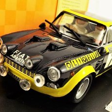 Slot Cars: TEAM SLOT FIAT 124 ABARTH EDICIÓN LIMITADA. Lote 198415171