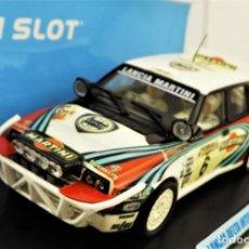 Slot Cars: TEAM SLOT LANCIA DELTA INTEGRALE MARTINI EDICIÓN LIMITADA. Lote 198456811