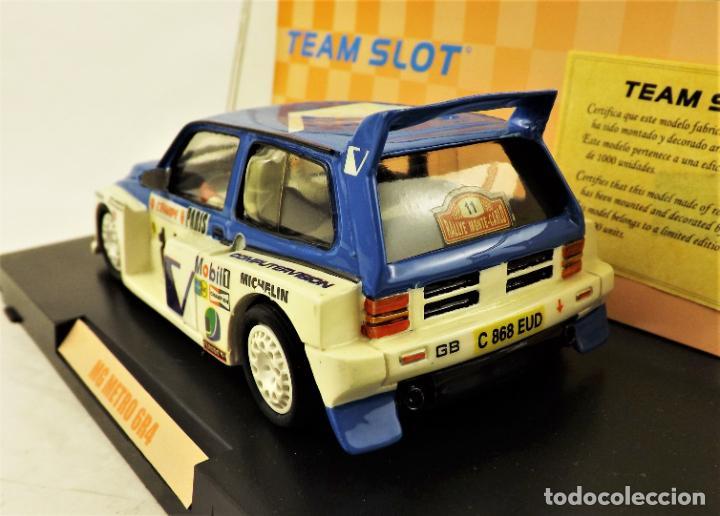Slot Cars: Team Slot MG Metro 6R4 Edición Limitada - Foto 2 - 198458348