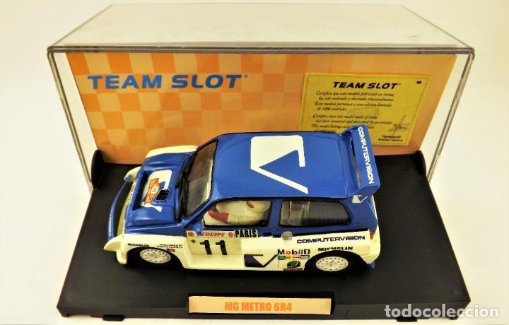 Slot Cars: Team Slot MG Metro 6R4 Edición Limitada - Foto 3 - 198458348