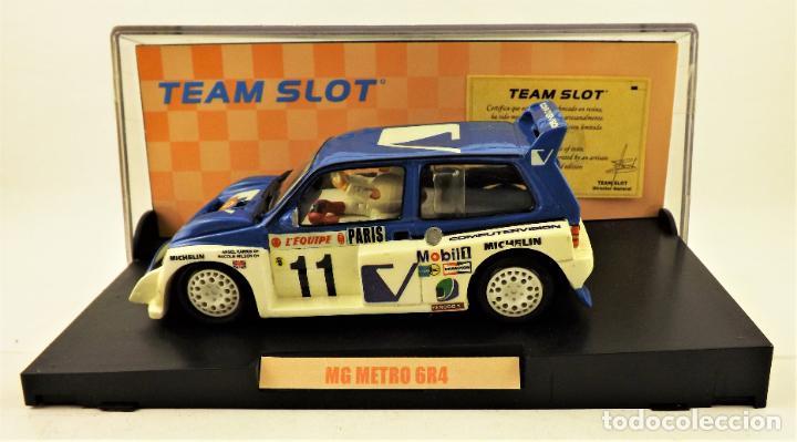 Slot Cars: Team Slot MG Metro 6R4 Edición Limitada - Foto 4 - 198458348