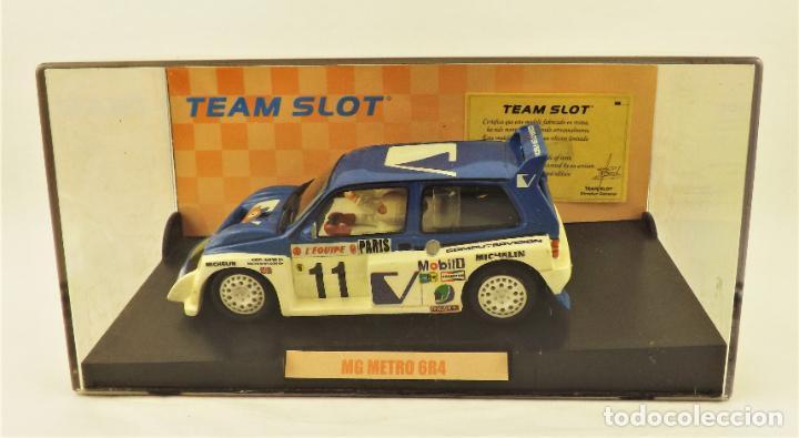 Slot Cars: Team Slot MG Metro 6R4 Edición Limitada - Foto 5 - 198458348