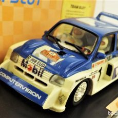 Slot Cars: TEAM SLOT MG METRO 6R4 EDICIÓN LIMITADA. Lote 198458348