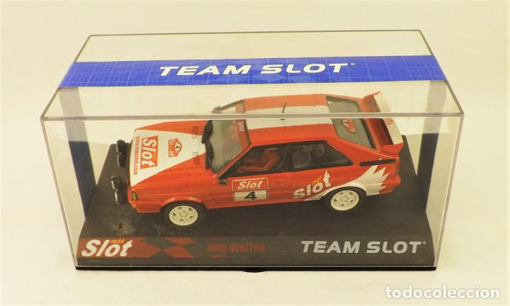 TEAM SLOT AUDI QUATTRO MASSLOT. (Juguetes - Slot Cars - Team Slot)