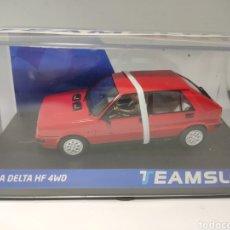 Slot Cars: NOVEDAD TEAM SLOT LANCIA DELTA HF 4WD RED REF. 12901. Lote 198713977