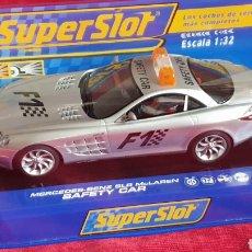 Slot Cars: MERCEDES BENZ SLR MCLAREN SAFETY CAR SUPERSLOT. Lote 198714658