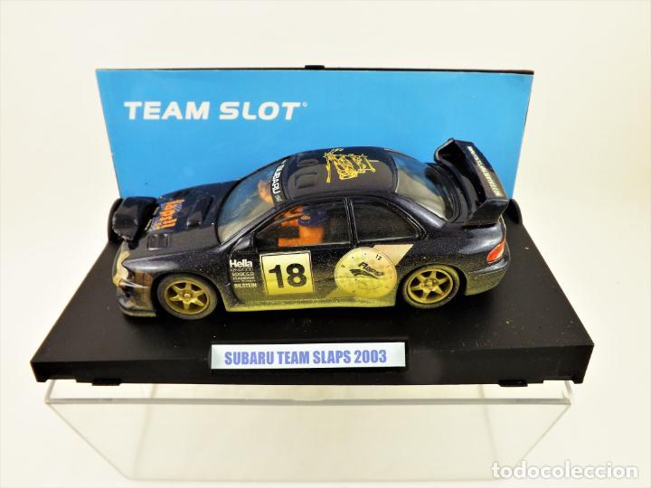 Slot Cars: Team Slot Subaru Team Slaps 2003 Edición. Limitada 100 unidades - Foto 3 - 199062875