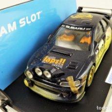 Slot Cars: TEAM SLOT SUBARU TEAM SLAPS 2003 EDICIÓN. LIMITADA 100 UNIDADES. Lote 199062875