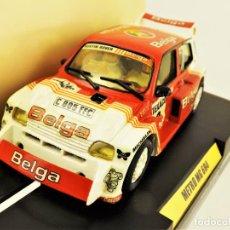 Slot Cars: TEAM SLOT METRO MG 6R4 EDICIÓN. LIMITADA 1000 UNIDADES. Lote 199063451