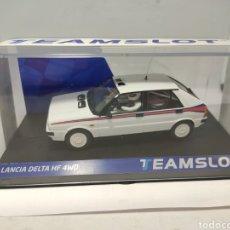 Slot Cars: TEAM SLOT LANCIA DELTA HF 4WD TEST CAR MARTINI REF. 12903. Lote 200355757
