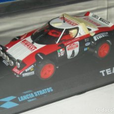 Slot Cars: LANCIA STRATOS PIRELLI TEAM SLOT/SCALEXTRIC. Lote 201272805