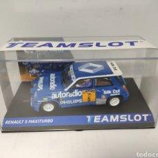 Slot Cars: TEAM SLOT RENAULT 5 MAXITURBO RACE 1988 REF. 12108. Lote 201541416
