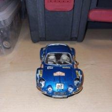 Slot Cars: RENAUT ALPINE A 110 MONTECARLO REF 10701 TEAM SLOT.. Lote 210377311
