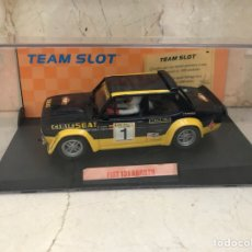 "Slot Cars: TEAM SLOT FIAT 131 ABARTH ""ZANINI"" REF-70601 RESINA. Lote 202481720"