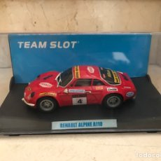 "Slot Cars: TEAM SLOT RENAULT ALPINE A110 ""STREET CAR"" REF-10705. Lote 202484761"