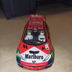 Slot Cars: PEUGEOT 206 WRC JOSE MARÍA PONCE RALLY CORTE INGLÉS 2001 DESCATALOGADO EDICION LIMITADA. Lote 202822585