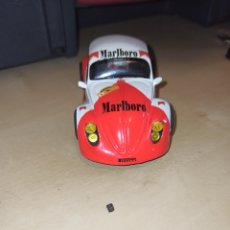 Slot Cars: VW ESCARABAJO TUNING GT1 MARLBORO ED LIMITADA 1000 ARTESANAL TEAM SLOT. Lote 202907811