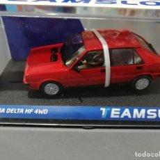 Slot Cars: BLACK FRIDAY -LANCIA DELTA HF 4WD ROJO DE TEAM SLOT. Lote 234397320
