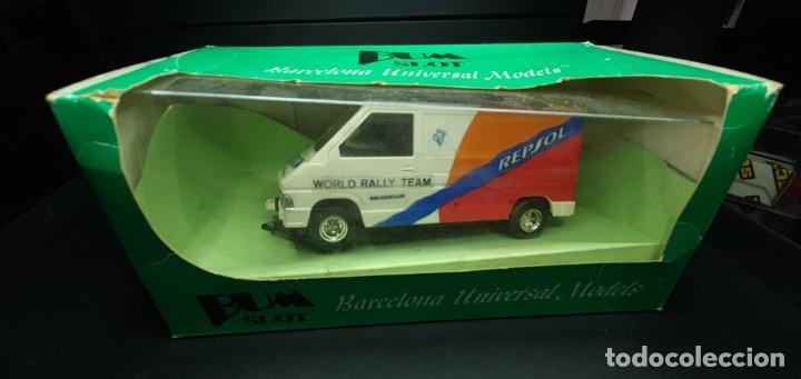 RENAULT TRAFFIC SLOT CARS (Juguetes - Slot Cars - Team Slot)