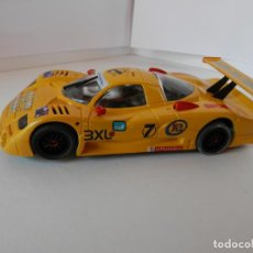 Slot Cars: SCALEXTRIC - NISSAN R 390 - SALON HOBBY 2002 - EDIC. LIMITADA - PERFECTO ESTADO - VER FOTOS Y DESCRI. Lote 204678357