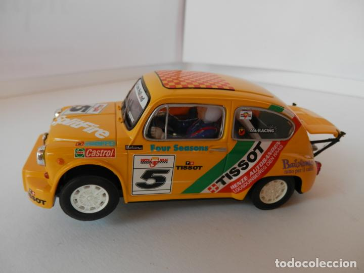 SCALEXTRIC - FIAT 600 ABARTH TISSOT - REF. 6146 - PERFECTO ESTADO - VER FOTOS Y DESCRIPCION (Juguetes - Slot Cars - Team Slot)