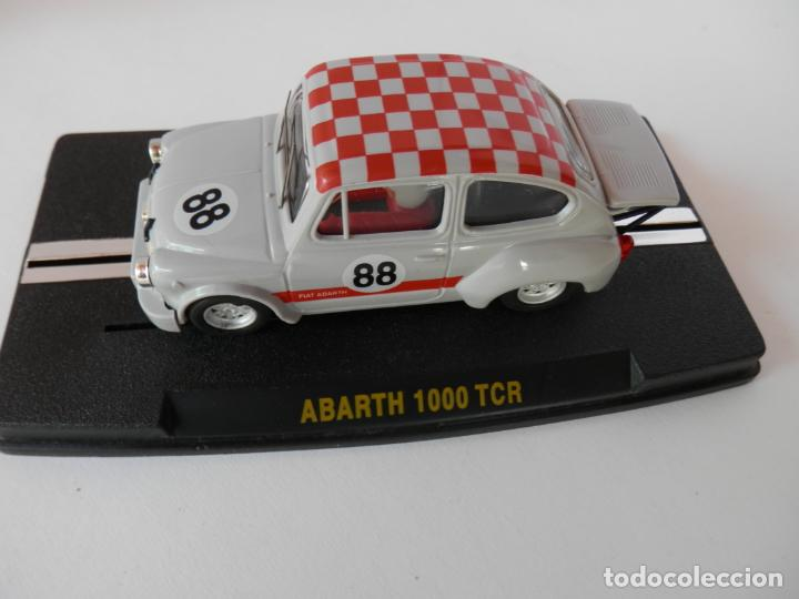 Slot Cars: SCALEXTRIC - FIAT ABARTH 1000 TCR - Ref. 1950 - PERFECTO ESTADO - VER FOTOS Y DESCRIPCION - Foto 5 - 204679586