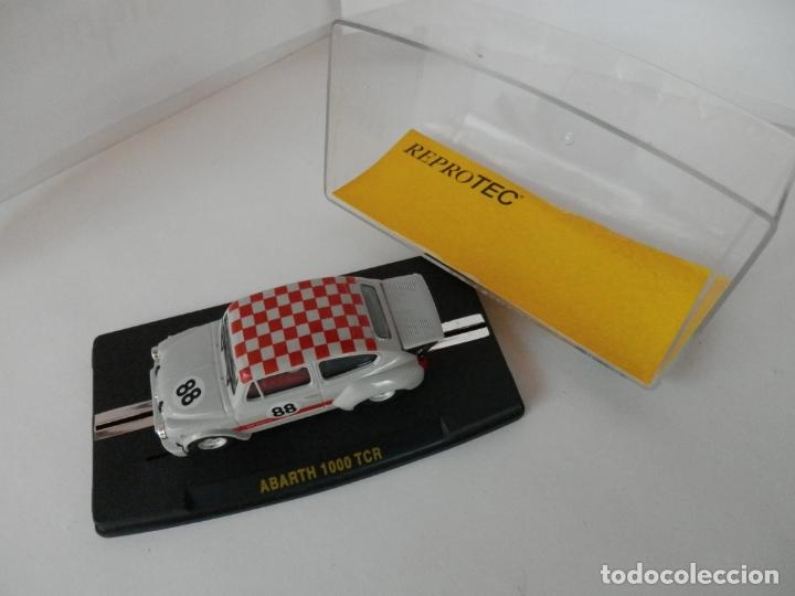 Slot Cars: SCALEXTRIC - FIAT ABARTH 1000 TCR - Ref. 1950 - PERFECTO ESTADO - VER FOTOS Y DESCRIPCION - Foto 6 - 204679586