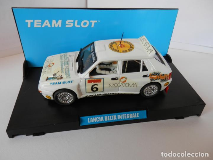 Slot Cars: SCALEXTRIC - LANCIA DELTA INTEGRALE -VI SALON HOBBY BARCELONA - PERFECTO ESTADO - VER FOTOS Y DESCRI - Foto 4 - 204680056