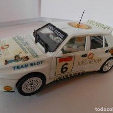 Slot Cars: SCALEXTRIC - LANCIA DELTA INTEGRALE -VI SALON HOBBY BARCELONA - PERFECTO ESTADO - VER FOTOS Y DESCRI. Lote 204680056