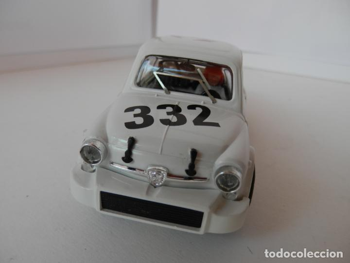 Slot Cars: SCALEXTRIC - FIAT ABARTH 1000 TCR - REPROTEC - PERFECTO ESTADO - VER FOTOS Y DESCRIPCION - Foto 2 - 204681970