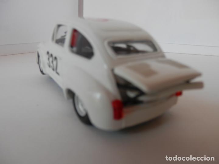 Slot Cars: SCALEXTRIC - FIAT ABARTH 1000 TCR - REPROTEC - PERFECTO ESTADO - VER FOTOS Y DESCRIPCION - Foto 3 - 204681970