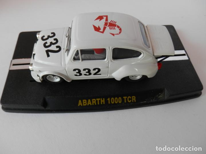 Slot Cars: SCALEXTRIC - FIAT ABARTH 1000 TCR - REPROTEC - PERFECTO ESTADO - VER FOTOS Y DESCRIPCION - Foto 4 - 204681970