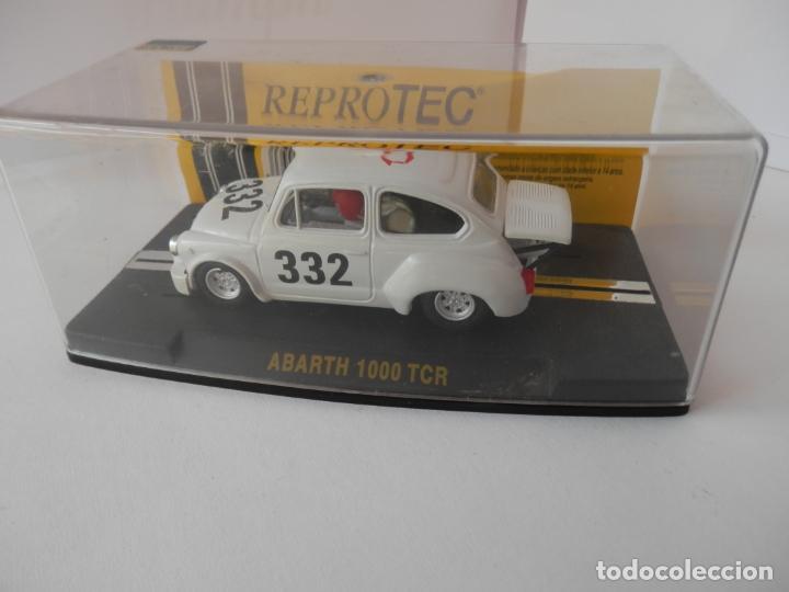 Slot Cars: SCALEXTRIC - FIAT ABARTH 1000 TCR - REPROTEC - PERFECTO ESTADO - VER FOTOS Y DESCRIPCION - Foto 5 - 204681970