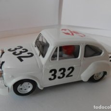 Slot Cars: SCALEXTRIC - FIAT ABARTH 1000 TCR - REPROTEC - PERFECTO ESTADO - VER FOTOS Y DESCRIPCION. Lote 204681970