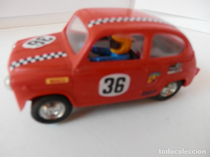 SCALEXTRIC - SEAT 600 VINTAGE - REF. 8333 - PERFECTO ESTADO - VER FOTOS Y DESCRIPCION (Juguetes - Slot Cars - Team Slot)