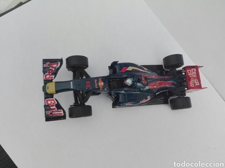 Slot Cars: -TORO ROSSO GP 1 SAIZ Nº 55 - PINTADO A MANO CON CALCAS - Foto 3 - 204771960