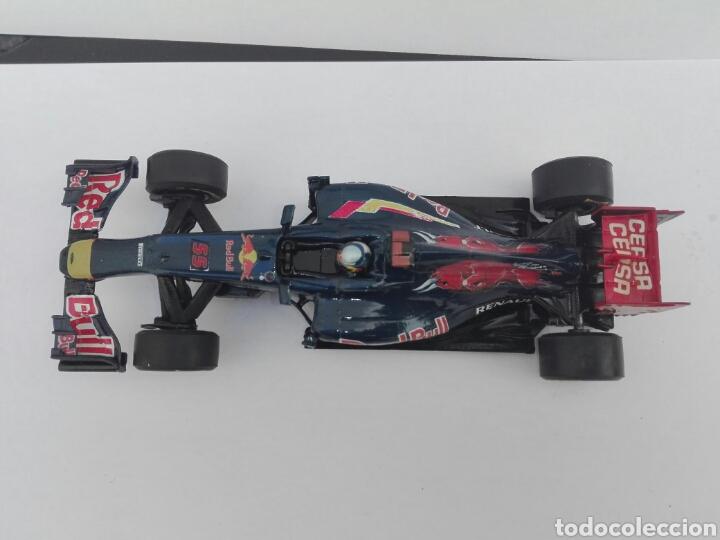 Slot Cars: -TORO ROSSO GP 1 SAIZ Nº 55 - PINTADO A MANO CON CALCAS - Foto 4 - 204771960