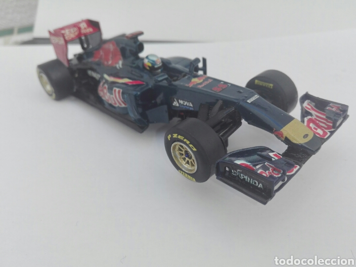 Slot Cars: -TORO ROSSO GP 1 SAIZ Nº 55 - PINTADO A MANO CON CALCAS - Foto 24 - 204771960
