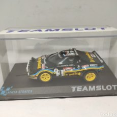 Slot Cars: TEAMSLOT LANCIA STRATOS TOUR DE FRANCE 1980 REF. 11515. Lote 204789633